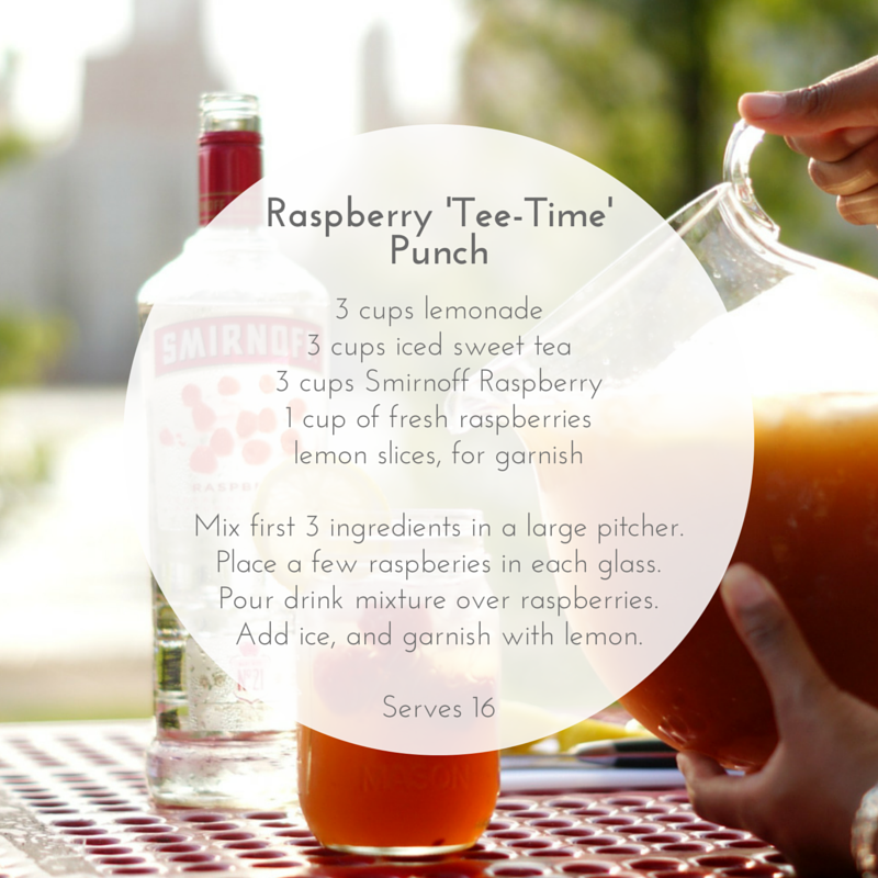 Raspberry 'Tee-Time' Punch