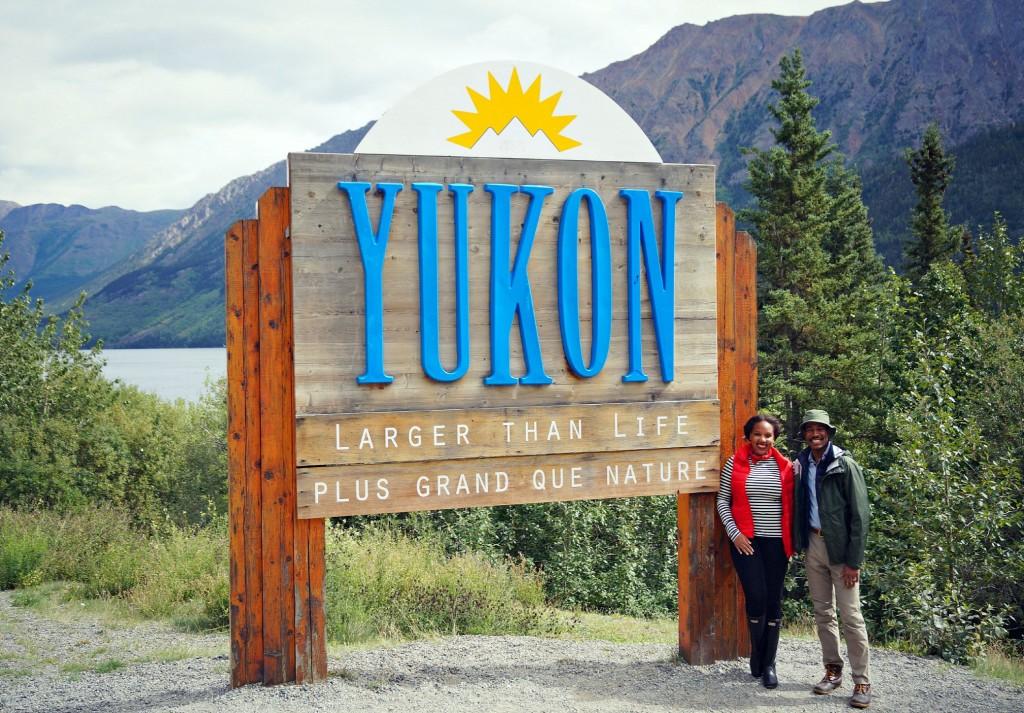 Yukon Territory Sign