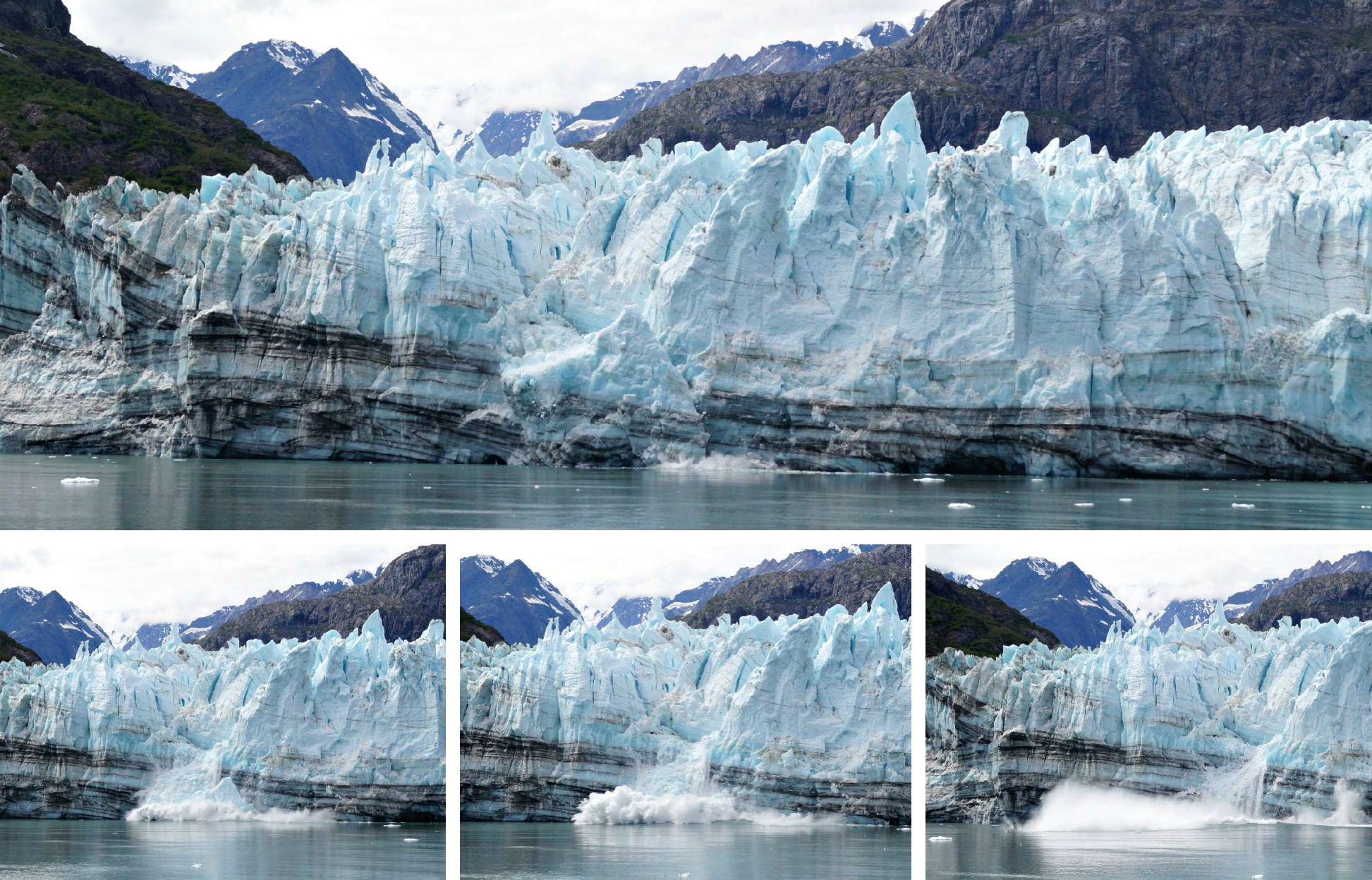 Postcards From Alaska Cruising Glacier Bay