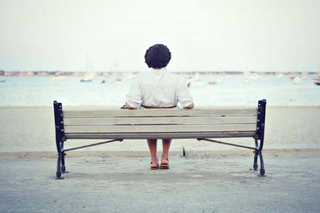Hyannis - Sitting on the Beach