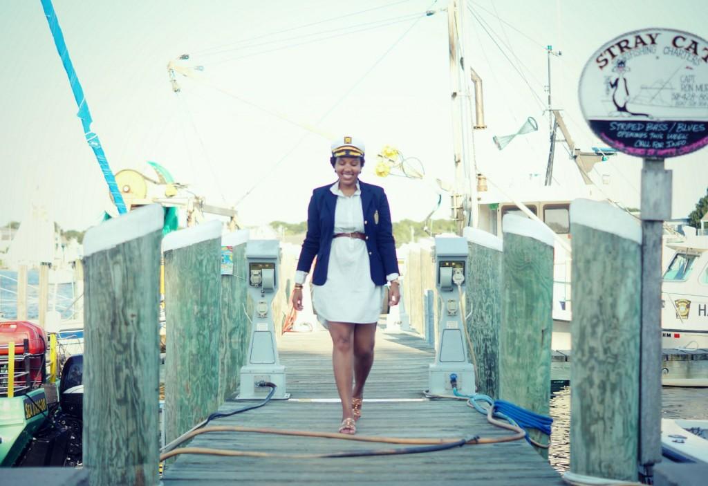 Hyannis - Navy Blazer + Shirtdress