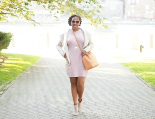 Pink Dress - Cute Fall Outfit Ideas