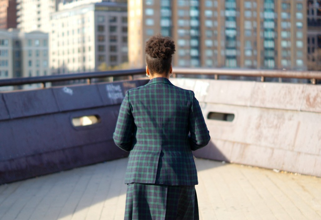 Black Watch Plaid Blazer
