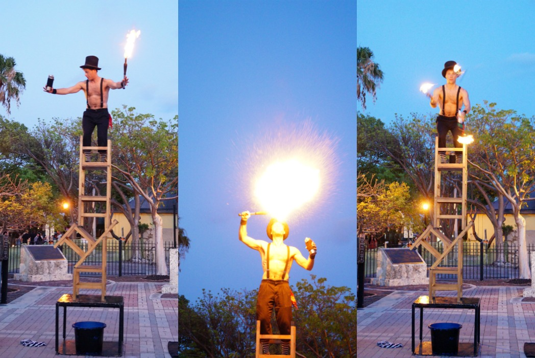 Mallory Square Sunset Celebration - One Day in Key West
