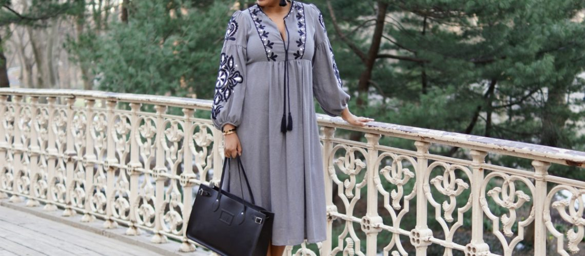 Bohemian Peasant Dress - closet Confections - NYC Lifestyle Fashion & Blogger