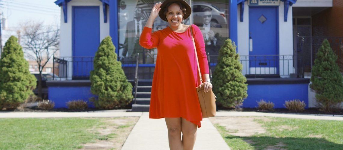 Detroit Hitsville USA, Old Navy Jersey Knit Dress