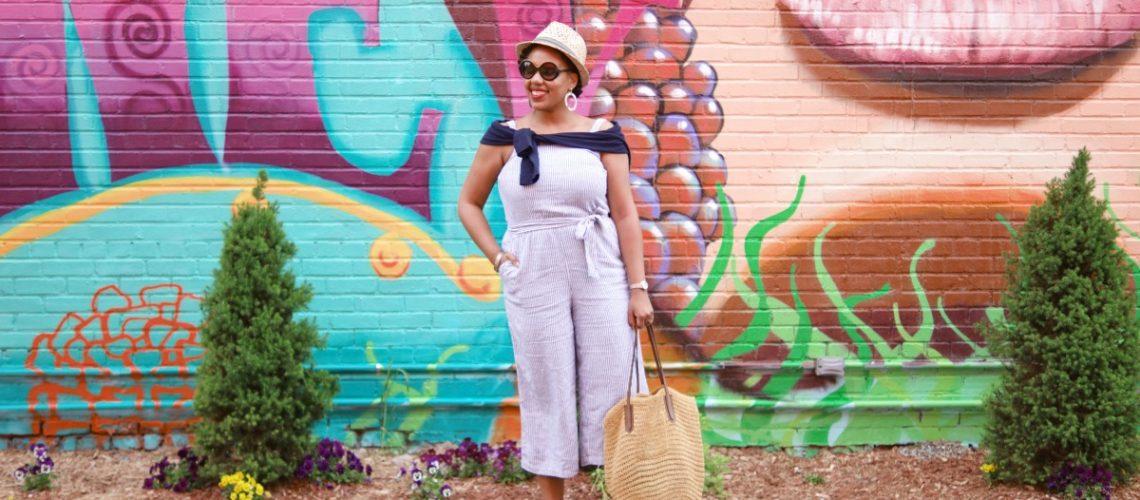 Old Navy Wide Leg Crop Jumpsuit, How to wear a Jumpsuit, Linen Jumpsuit, NYC Fashion Blogger