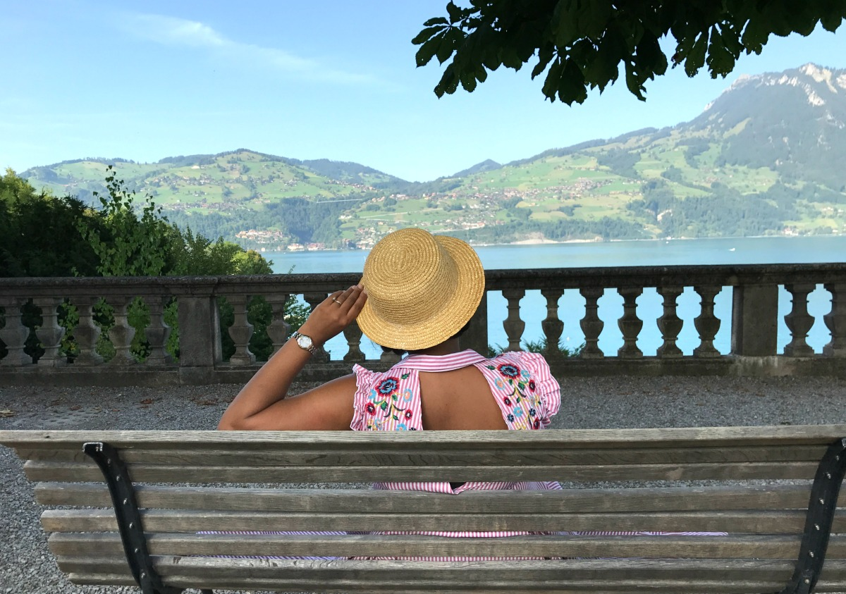 Switzerland Road Trip - Schloss Spiez Castle