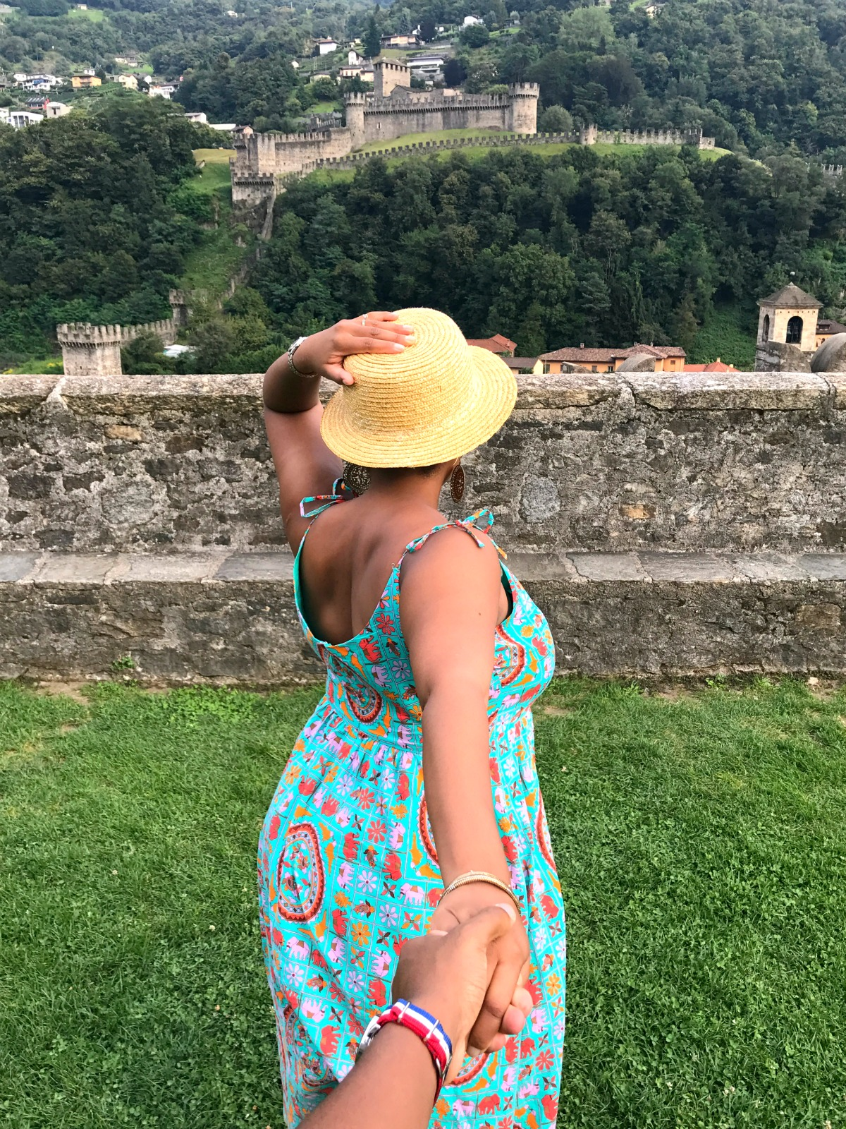 Switzerland Road Trip - Castlegrande in Bellinzona