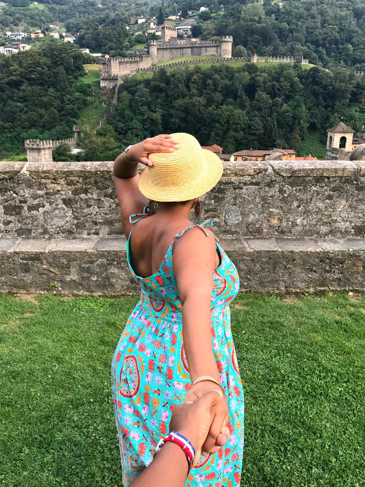 Switzerland Road Trip - Castlegrande in Bellinzona