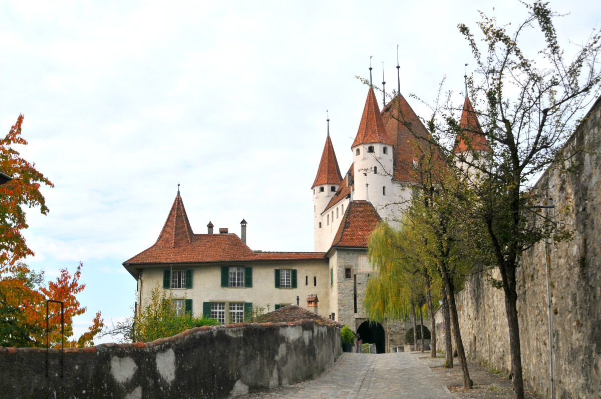 Switzerland Road Trip - Thun Castle